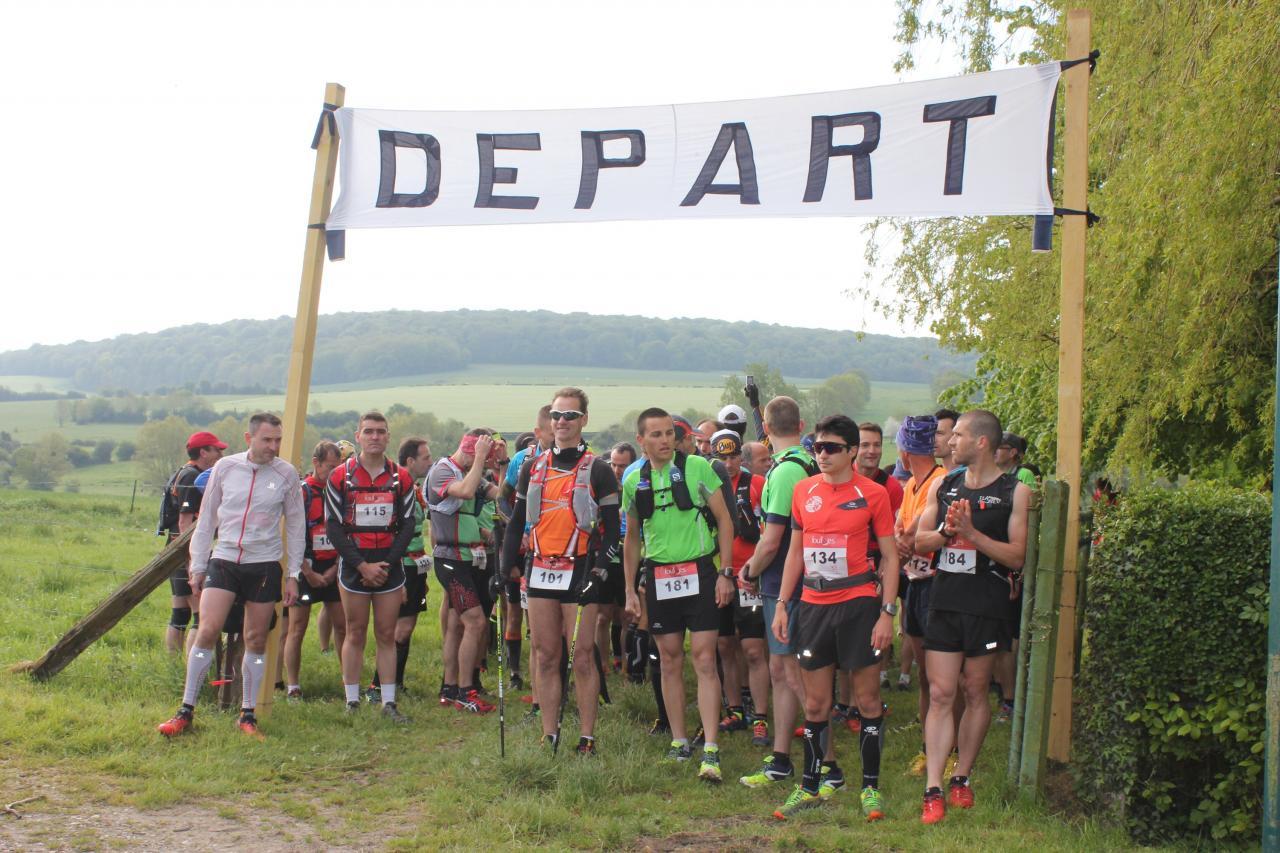 Départ Trail 2016 - parcours de 32km