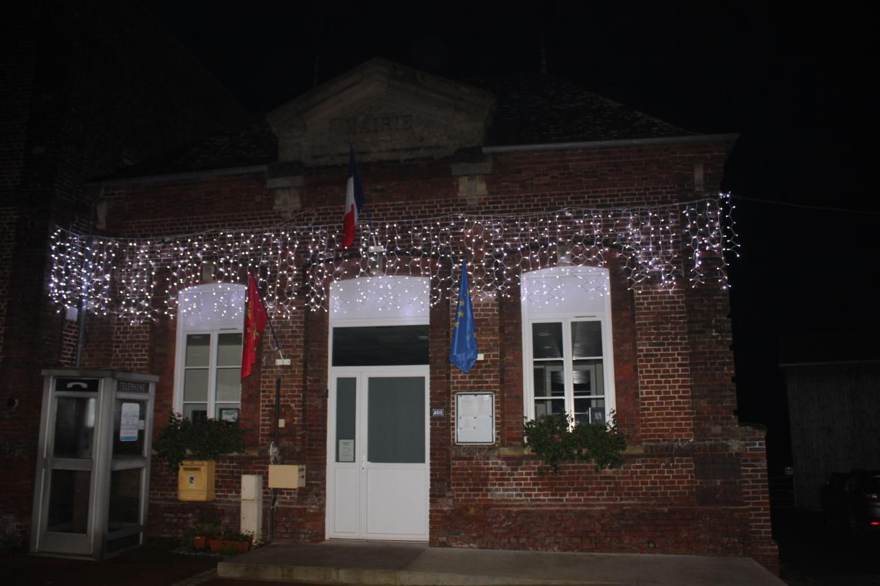Illumination mairie