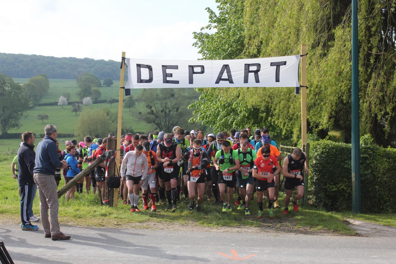 Trail 2016 - Départ de Beaussault - 32km