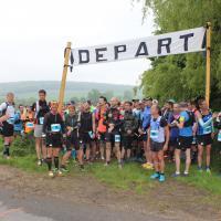 Trail pays de Bray 2018 - Départ Beaussault