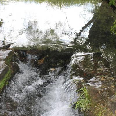 chemin à l'eau